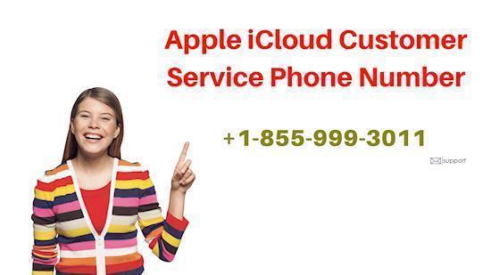 Apple iCloud Customer Service +1-855-999-3011 Number