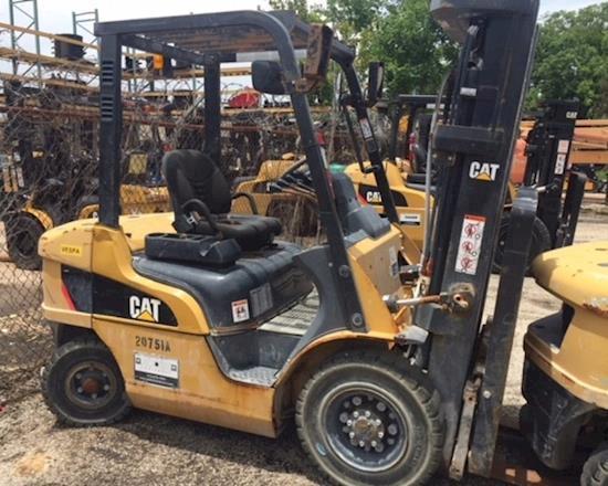 Caterpillar Lift Truck Dealers in Texas