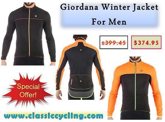 Giordana Winter Jacket for Men on Huge Clearance