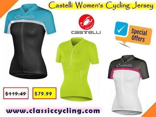 Cycling Apparel for Women | Castelli Cycling Jerseys for Women