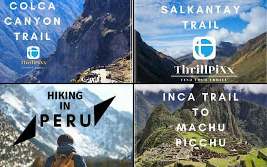 Peru: 3 hiking trails @ ThrillPiXx
