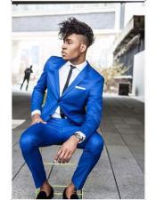 The Best Designer & Tailored Sky Blue Suit Vest At MensItaly