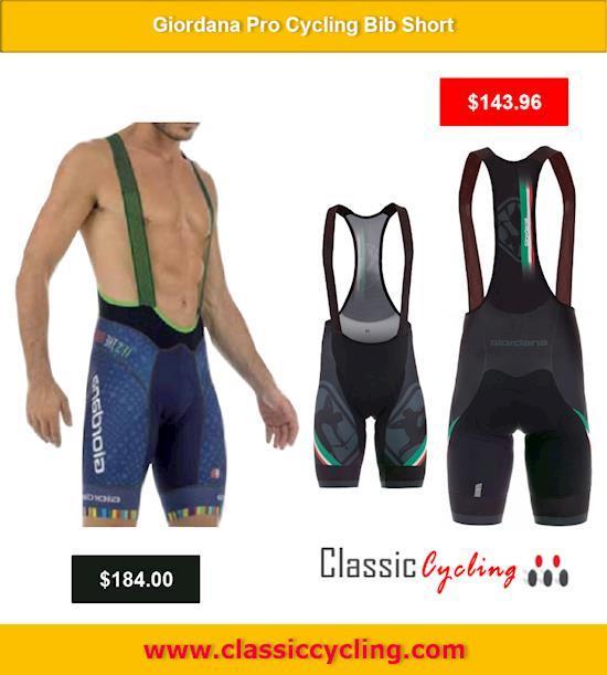 Best Giordana Bib Shorts on Clearance @ Classiccycling.com