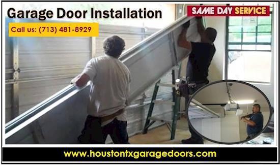 New Garage Door Installation houston, 77008, TX