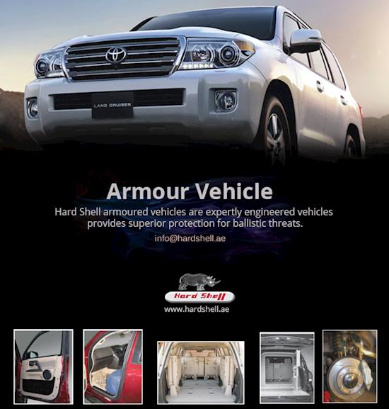 Buy Armoured Vehicles, Armoured Car- Hard Shell