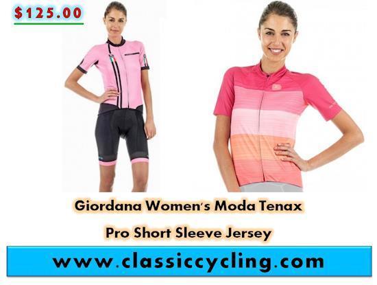 Giordana Women's Moda Tenax Squadra Pro Short Sleeve Jersey