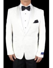 White Dinner Jacket Etiquette For Men- MensItaly