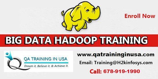 Big data online classes & 100% placement by Qatraininginusa.