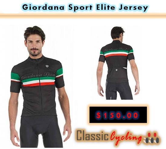 Giordana Sport Elite Short Sleeve Jersey | Giordana Sports Apparel