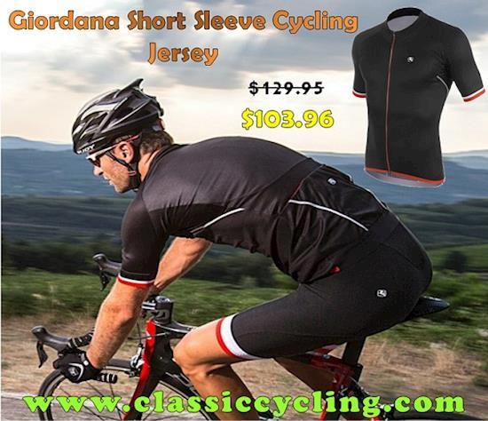 Get Huge Discount on Giordana Short Sleeve Jerseys for Men