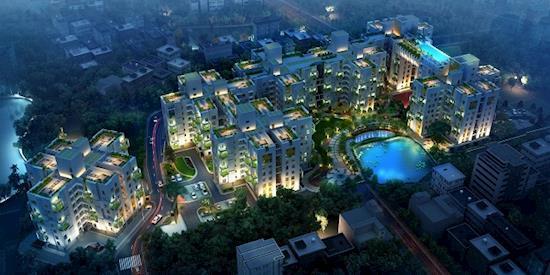 Sugam Habitat - 3 BHK apartment Off EM Bypass Kolkata