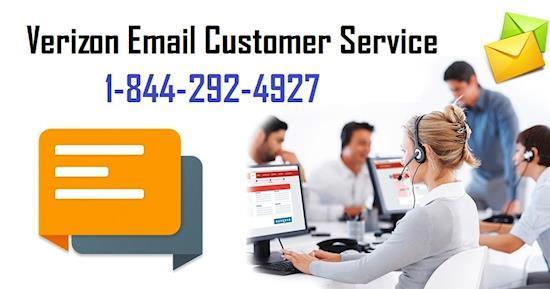 Verizon Email Customer Service number 1-844-292-4927