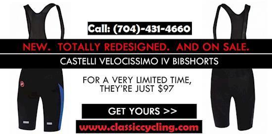 Summer Sale 2018 | Castelli Velocissimo IV Bib Shorts