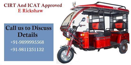 E Rickshaw Manufacturers in India