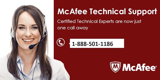 McAfee Customer Service 1-888-501-1186