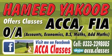 Accounting (ONLINE) Teacher(WhatsApp+923332398085 Skype: acca.classes)