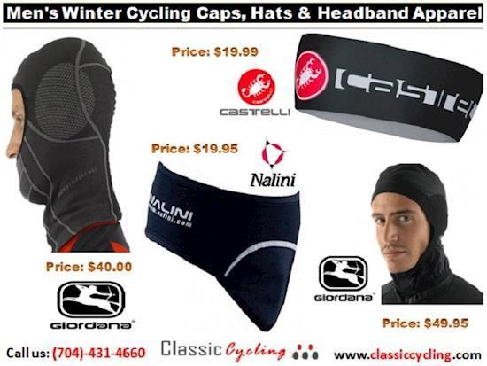 Huge Sale on Winter 2018 | Cycling Caps, Hats & Headband Apparel