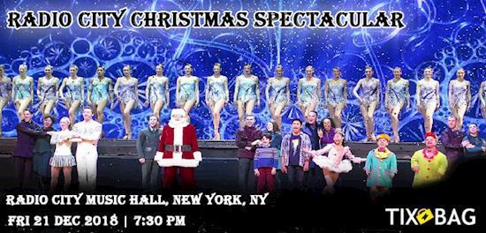 Buy Radio City Christmas Spectacular Tickets on Tixbag