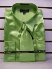 Dress Shirts Green- Dashing And Marvelous