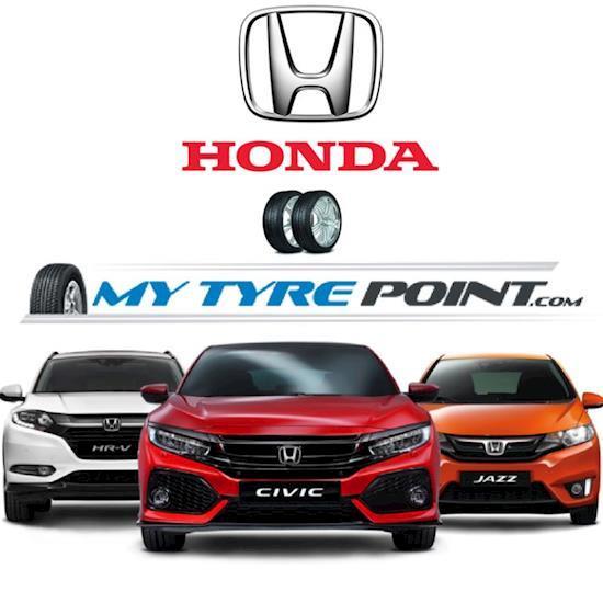 Seraching For Honda Car Tyres Online just Visit Mytyrepoint