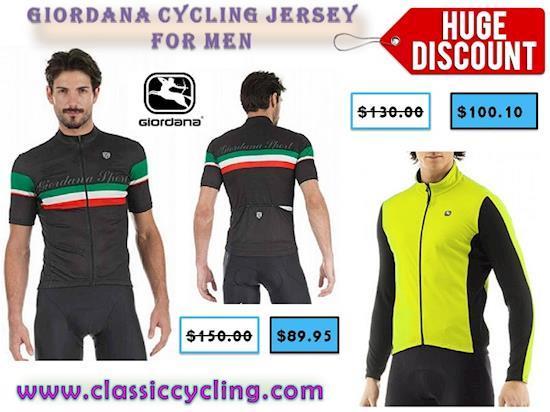 Giordana Fusion Long Sleeve Cycling Jerseys on Huge Clearance