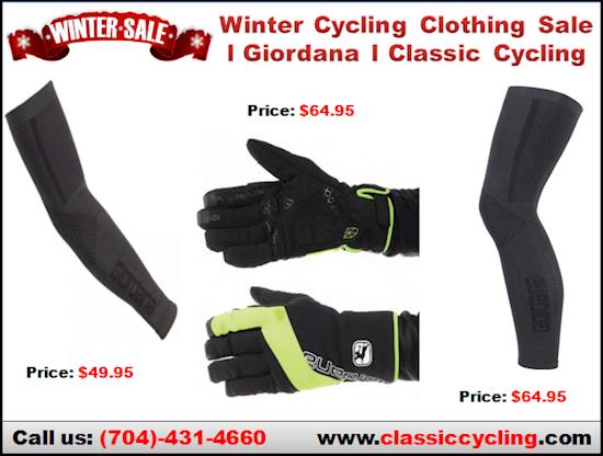 Giordana Heavy Weight Cycling Arm & Leg Warmers | Winter 2018 Cycling Clothing Sale