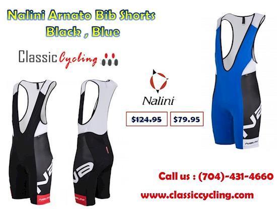 Nalini Arnato Cycling Bib Shorts | Giordana Laser Black Shorts