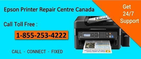 Epson Printer Repair Centre Canada 1-855-253-4222