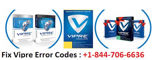 Call Now 1844-706-6636 to Fix Vipre Antivirus Error Code 1601