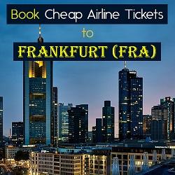 Grab Exclusive Deal & Offer on Flight to Frankfurt!