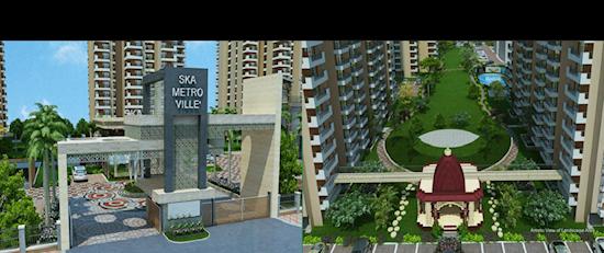 Book 2 BHK @ SKA Metro Ville,  Sector - ETA-II Gr.Noida | 8750-488-588