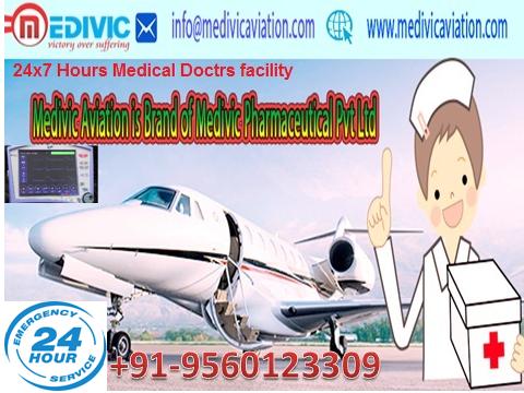 24/7 Emergency Air Ambulance Services Guwahati to Delhi Mumbai India