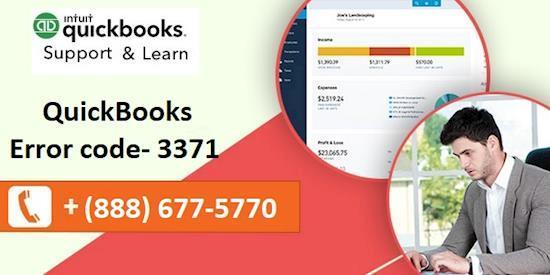 QuickBooks Error code 3371 | Call Now 888-677-5770