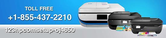 Complete the HP OJ4650 setup