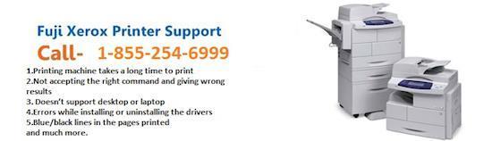 Fuji Xerox printer support 1-855-254-6999.