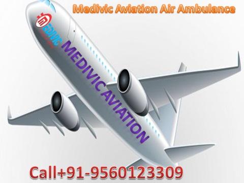 Air Ambulance Service in Varanasi by Medivic Aviation