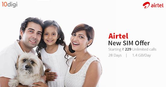 Get Airtel New SIM Offer