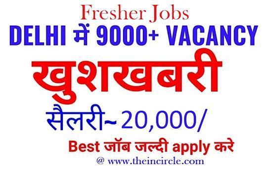 Find Latest Finance Jobs in Delhi-NCR | Fresher Jobs | Theincircle.com