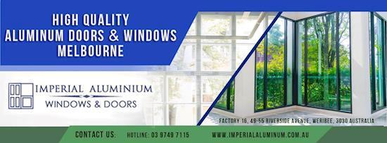 Window Manufacturer Melbourne