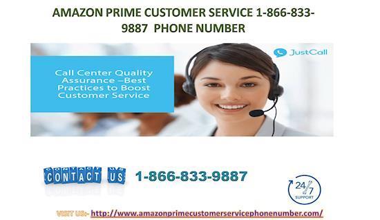 Amazon Prime 1*866*833*9887 Customer Service Number