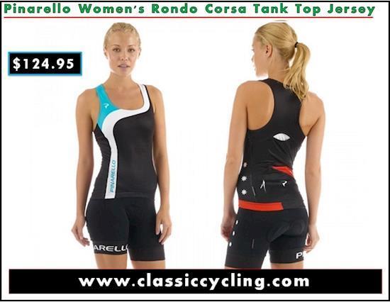 Pinarello Women's Rondo Corsa Tank Top Jersey | Cycling Apparel