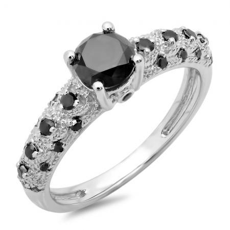 Stunning Black Diamond Rings – Certified Jewelry | Dazzling Rock