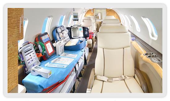 Emergency Transfer by Air Ambulance Services in Guwahati