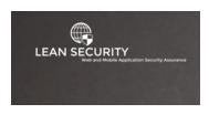 Dynamic Web Application Testing — LEAN SECURITY