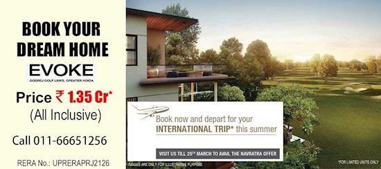 Plan a Privileged life at Godrej Evoke Villas Greater Noida