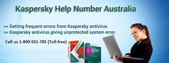 Kaspersky Support Number Australia: 1800-921-785