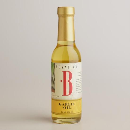 Boyajian Garlic Oil (8oz), Low FODMAP