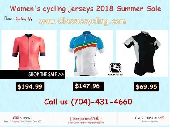 50% Discount on 2018 Summer Sale | Giordana Women's Cycling Jerseys