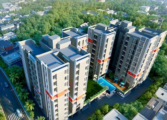 2 BHK Residential Apartments in Tangra Kolkata