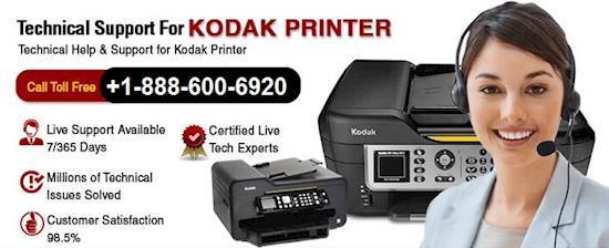 Kodak Printer Support +1-888-600-6920 IT Experts